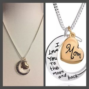 Jewelry - I LoveYou To The Moon And Back Necklace
